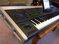 KORG OASYS 88 Weighted Keys Touch Screen Workstation Synthesizer Keyboard Piano