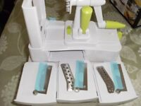 VEGETABLE SPIRAL / RIBBON SLICER (Brand New & Boxed)