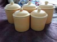 Storage jar / kitchen cannisters