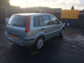 Ford fusion 1.4 TDI 12 months mot very low mileage only 69000