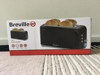 Breville Black 4 Slice Toaster BRAND NEW IN BOX AND UNUSED