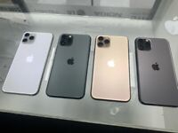 Apple iPhone 11 Pro Max unlocked receipt and warranty provided