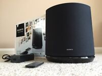 Sony High Quality Powerful Wireless Speaker. Wifi. Mint condition. Complete With Remote.