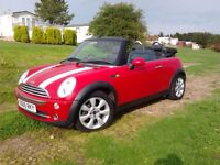 BMW Mini Cooper Convertible Cabriolet Low Mls FSH Chilli pack 1YR MOT