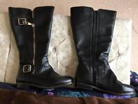 Extra Wide calf knee high boots size 6eee