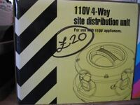 4-Way Site Distribution Unit, BARGAIN AT ONLY £20