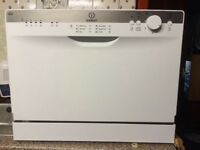 Indesit tabletop dishwasher. Very good condition