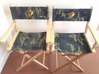 A Pair of Folding/ Directors' Chairs