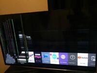 "Samsung 40"" Smart TV (broken screen)"