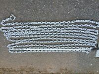 Anchor Chain - 11 metres of 8mm calibrated galvanised anchor chain