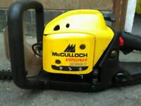 Mculloch petrol hedge cutters in Good condition