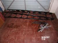 Ladders built of Steel very adaptable - tressel, ladder. very stable