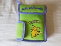 Pokemon Gameboy carry bag