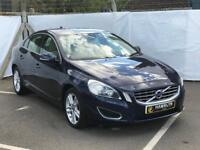 Volvo S60 2.0 D4 SE Lux 4 dr start/stop, Automatic. Leather, Air con, Great value 3 Month warranty