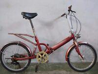 Folding bike 2681A
