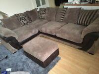 DFS brown corner sofa *excellent condition*