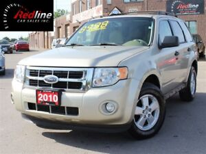2010 Ford Escape XLT 4X4 4Cyl Accident Free-Leather