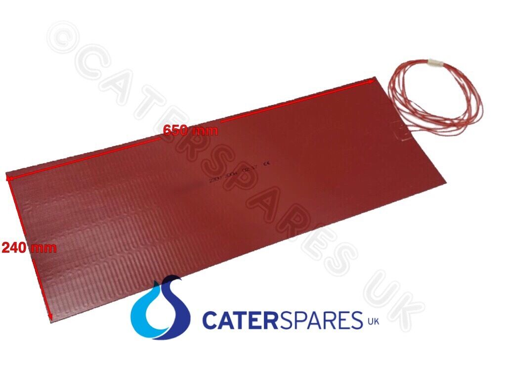 SILICONE FLEXIBLE RUBBER HEATING PAD ELEMENT HEAT MATT SIZE 65X24CM 300W