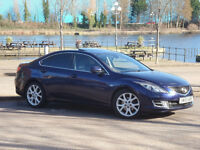 TOP OF THE RANGE 2009 Mazda 6 SL 2.2 diesel comes serviced+12mth MOT,HPI clear,v. good condition