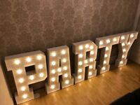 4ft Party Letters to Hire £125