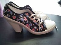 Selection of size 8 women's shoes