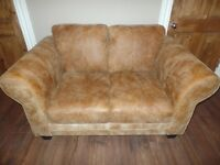 2 Seater Sofa - DFS - Savoy Range - RRP £895, Like New, 100% Leather Couch, NEED SOLD