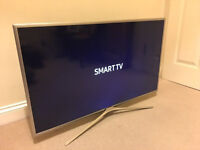 SILVER - 40in Samsung LED Smart TV -400hz- wifi Freeview HD 2016 model