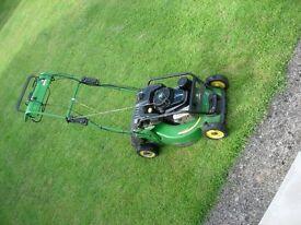 Lawn mower by John Deere