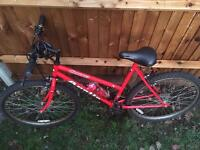 Red Bicycle in Addlestone