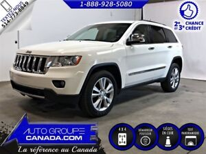 2012 Jeep Grand Cherokee Limited AWD+CUIR+TOIT PANO+NAV  WOW!!!