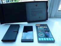Razer Phone - 64GB - Black Smartphone Unlocked UK Spec + Orzly case+Screen cover