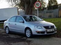 Volkswagen Passat SE TDI (140) + 2006/06 + NEW SHAPE + 140 BHP + 6 SPEED GEARBOX + DIESEL +