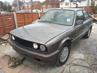BMW 318I E30 2 DOOR COUPE SPARES OR REPAIRS
