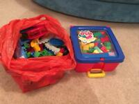 Mega Blocks Duplo bricks
