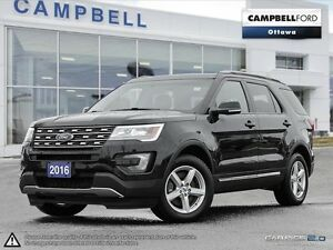 2016 Ford Explorer XLT AWD-LEATHER-POWER ROOF-NAV