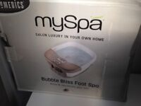 Foot spa (never used)