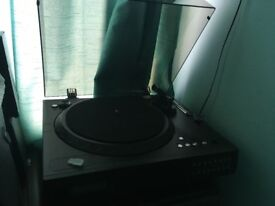Neostar turntable that records vinyl and tapes to cd