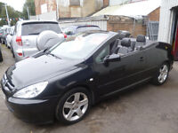Peugeot 307,convertible coupe,FSH,half leather interior,stunning looking car,low mileage,only 67k
