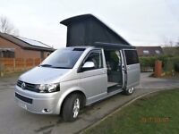 vw t5 campervan low mileage, a great looking van with everything you need to live the dream.