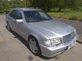1998 mercedes c240 sport auto amg. full leather etc.
