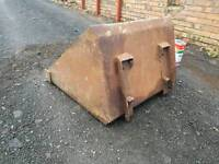 Bobcat or small compact tractor loader bucket
