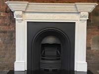 DELIVERY £25 max most uk fireplace cast iron fire and fire surround