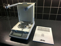 A&D HR-200 Laboratory Precision Electronic Balance, Great Used Condition.