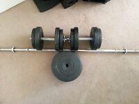 Weights and Kettlebells
