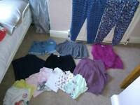 Girls bundle of clothing age 8-9 years