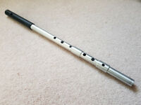 Gary Somers irish/folk flute in D – aluminium with Delrin headjoint