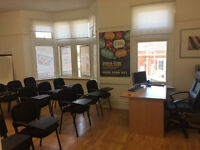 COMMERCIAL PROPERTY / LEASE FOR SALE IN FRONT OF SEVEN KINGS STATION - 5 OFFICES - GOOD OPPORTUNITY