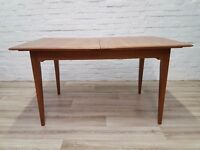Vintage D-Scan Dining Table (DELIVERY AVAILABLE FOR THIS ITEM OF FURNITURE)