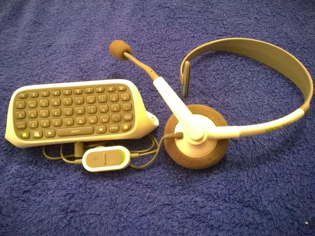 XBOX 360 CHATPAD & HEADSET