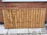 Fence panel/post/gravel board